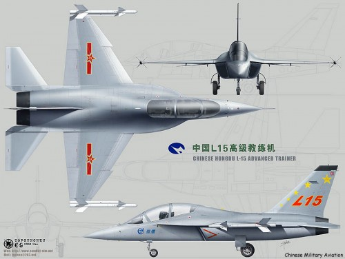 L-15 PLA Advanced Fighter Trainer