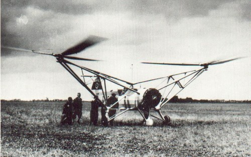 FW-61 STIEGLITZ