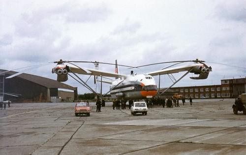 MIL MI-12 CCCP-21142 IN IUNIE 1971