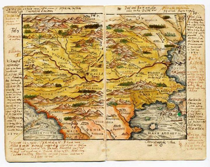 Cea Mai Veche Hartă A Romaniei Are Varsta De Peste 400 De Ani