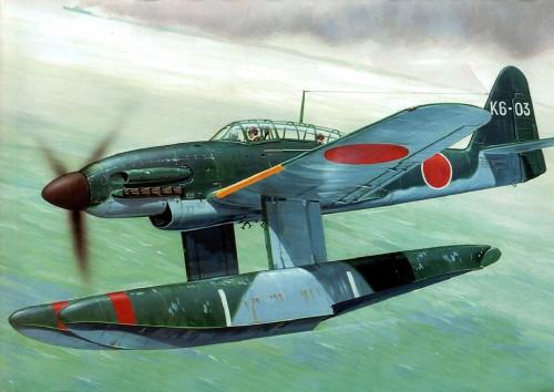 AICHI M6A1- K6-03 IN 1945